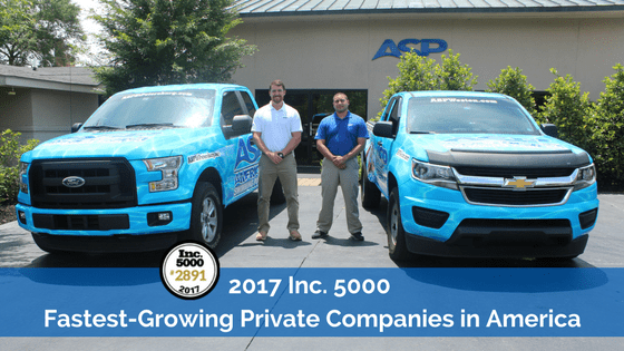 2017 Inc. 5000 fastest growing private companies in america