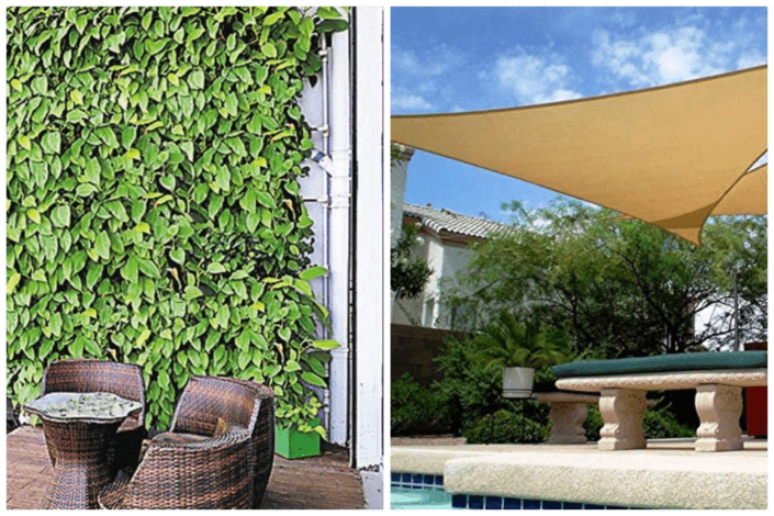 An image of some outdoor shade ideas